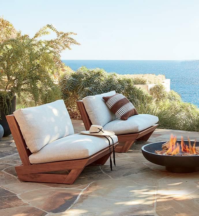 Modern Outdoor Furniture Decor Cb2, Cool Patio Furniture