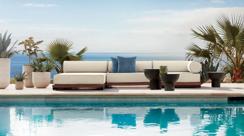 Cb2 outdoor furniture Steel Cant Come Soon Enough Fotosdemotos Modern Furniture And Home Decor Cb2