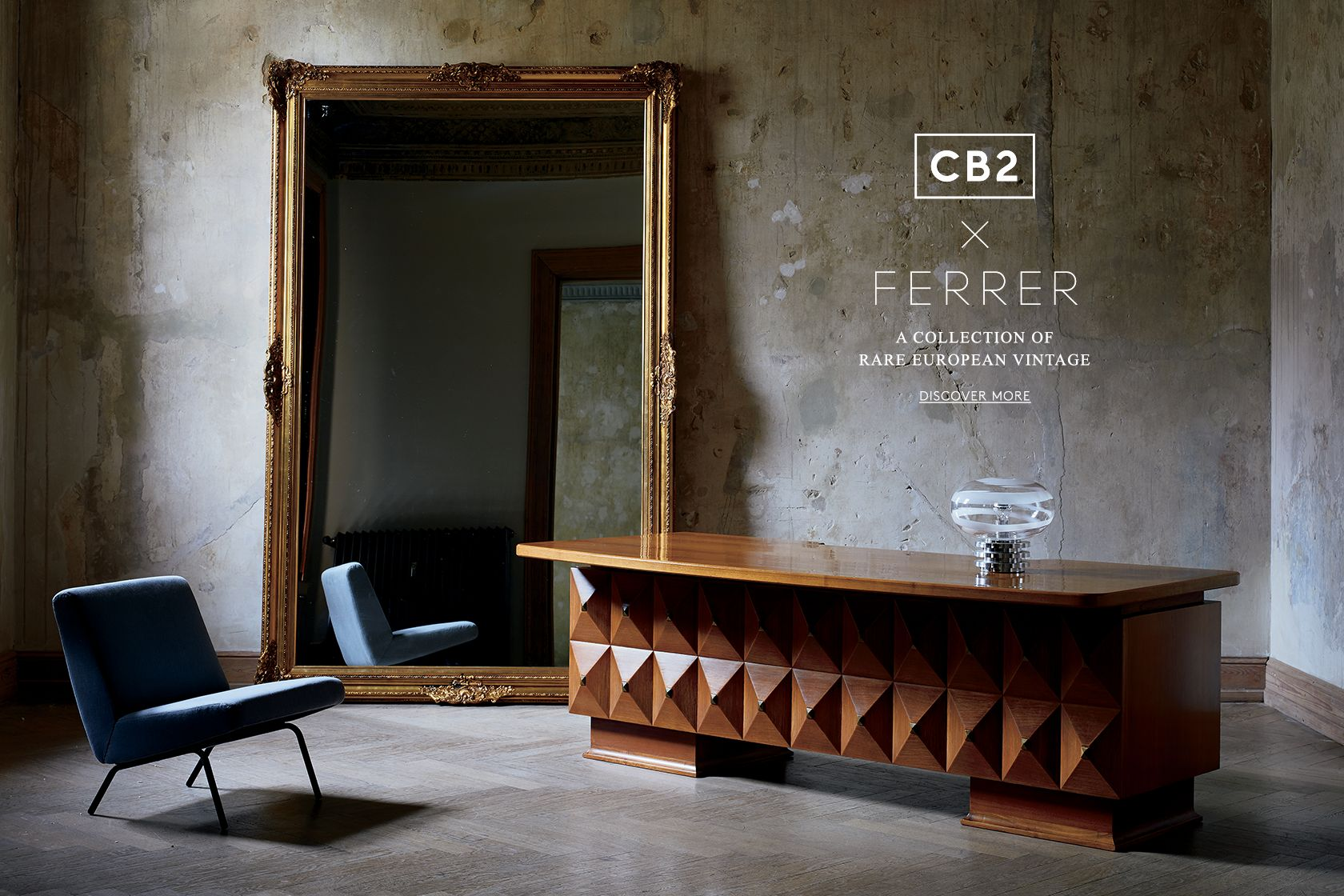 Ferrer x cb2 a collection of rare european vintage