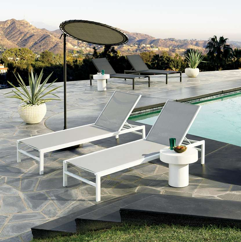 outdoor furniture - Modern Outdoor Patio Furniture CB2