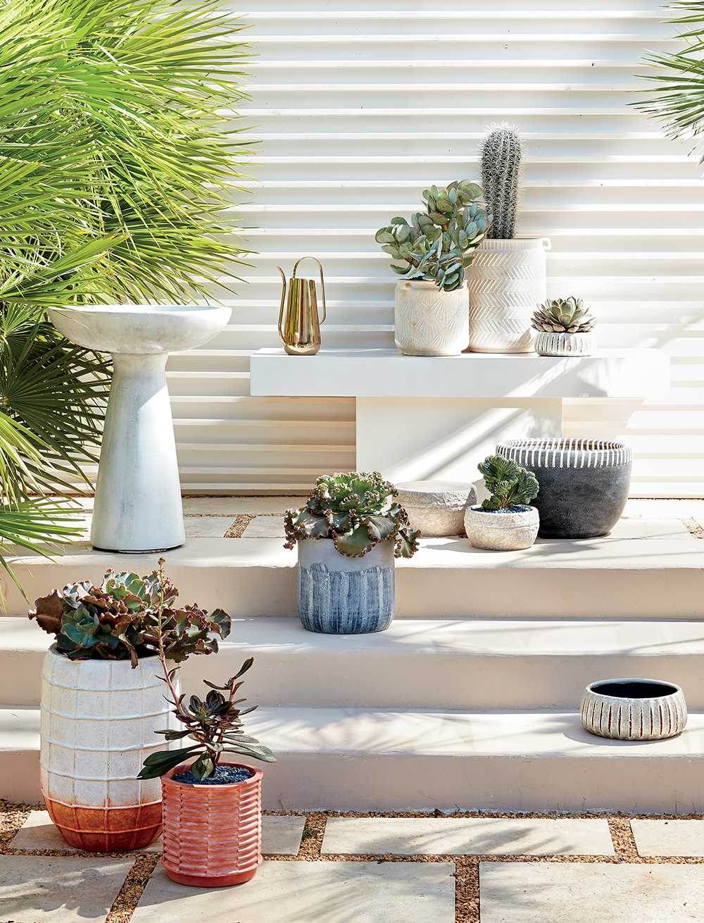 New Outdoor Planters and Accessories