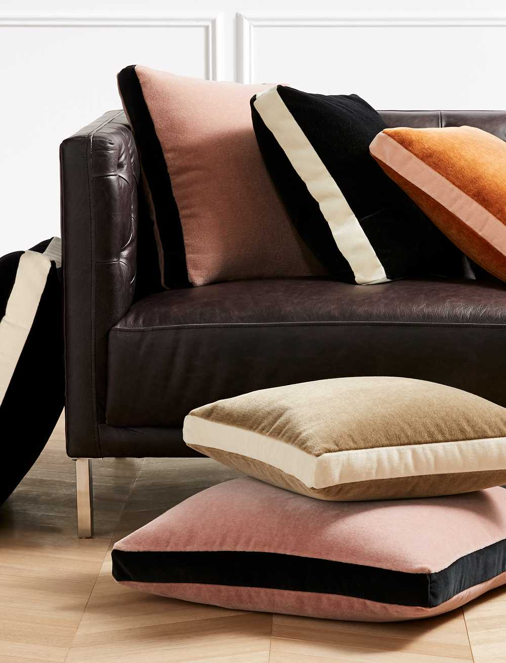Modern Throw Pillows, Poufs & Decorative Throw Blankets | CB2