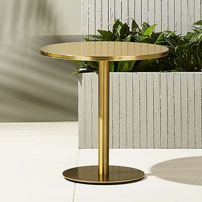 watermark bistro table - Modern Outdoor Patio Furniture CB2