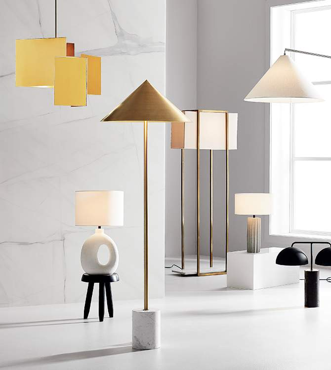 Modern Lighting Lamps And Light Fixtures Cb2