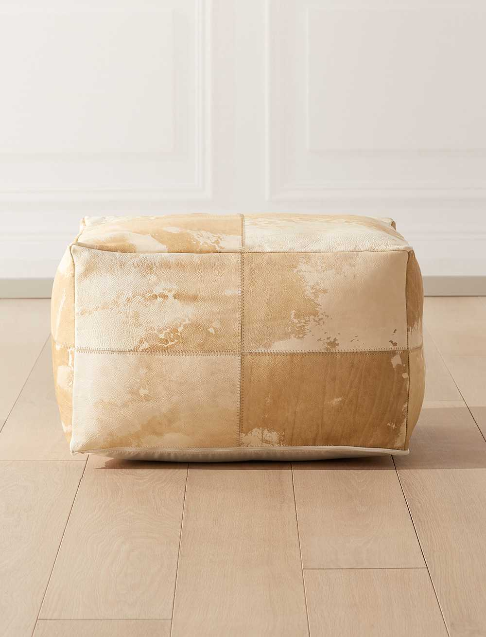 Cowhide Poufs and more