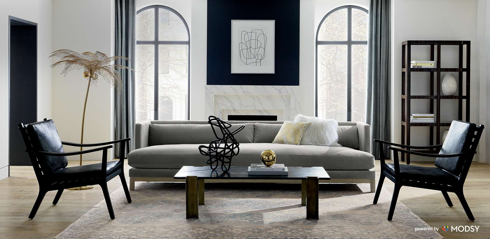 Unique Furniture Modern Edgy Cb2 Virtual Room Design Real Stylists