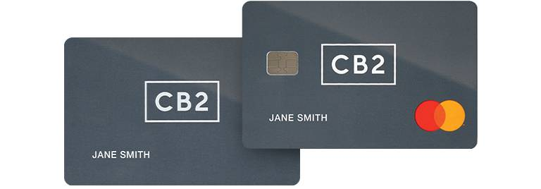 CB2 & Crate and Barrel Credit Card | CB2