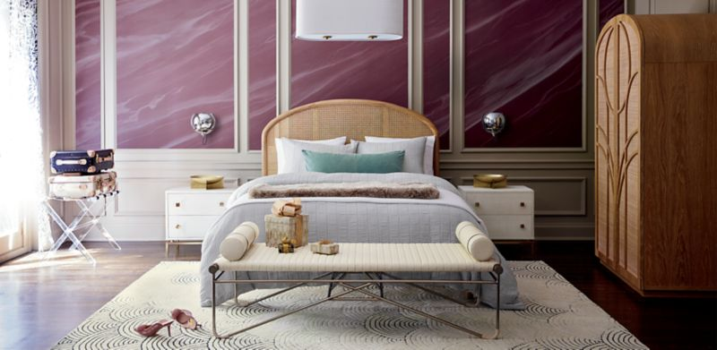 Sanctuary Space. Shop Bedroom Furniture · Cb2 Interiors