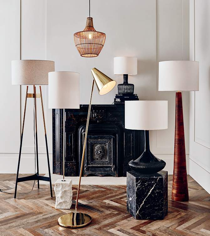 Contemporary Lighting Lamps Light