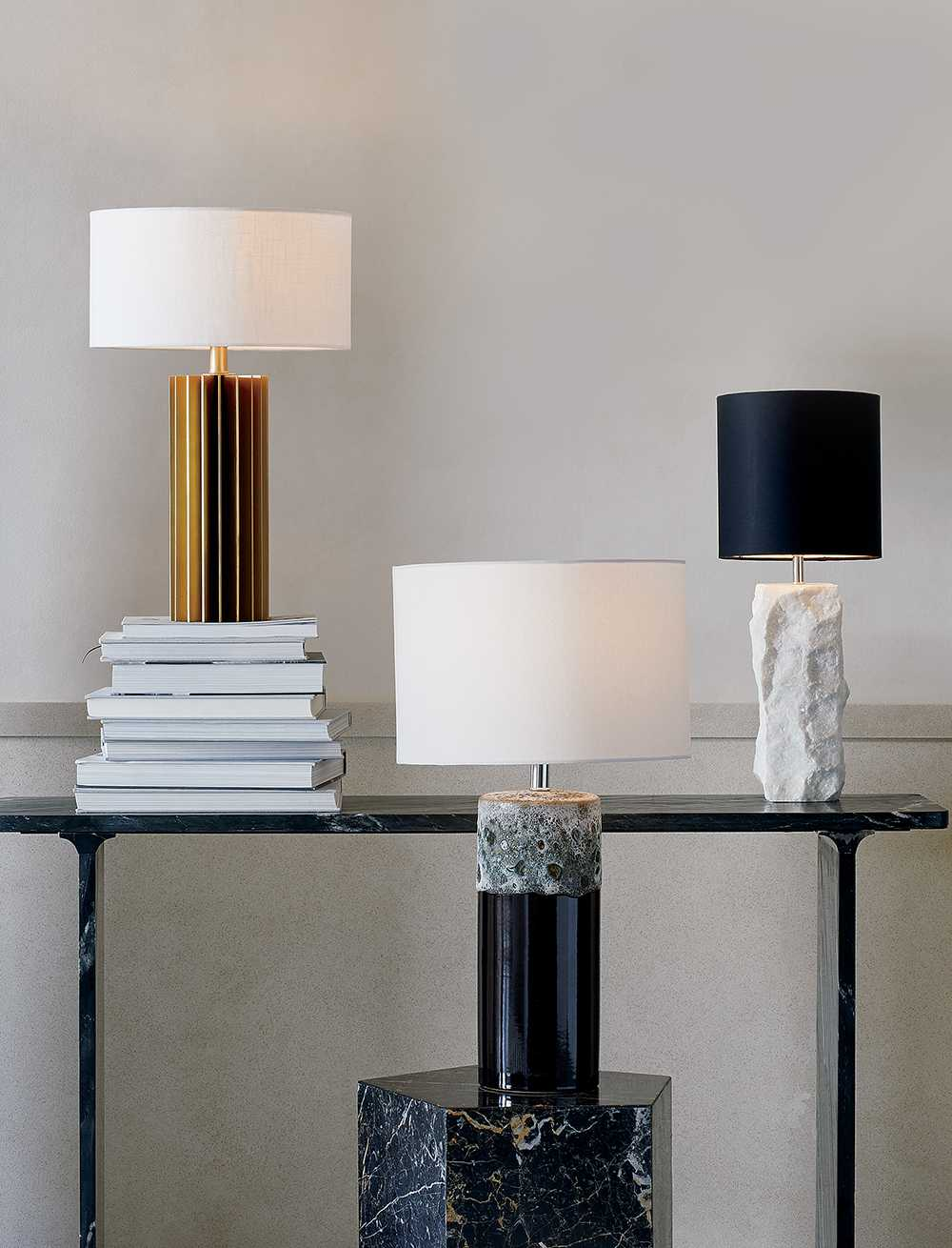 View CB2 Table Lamps