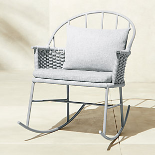 1730 Grey Rocking Chair