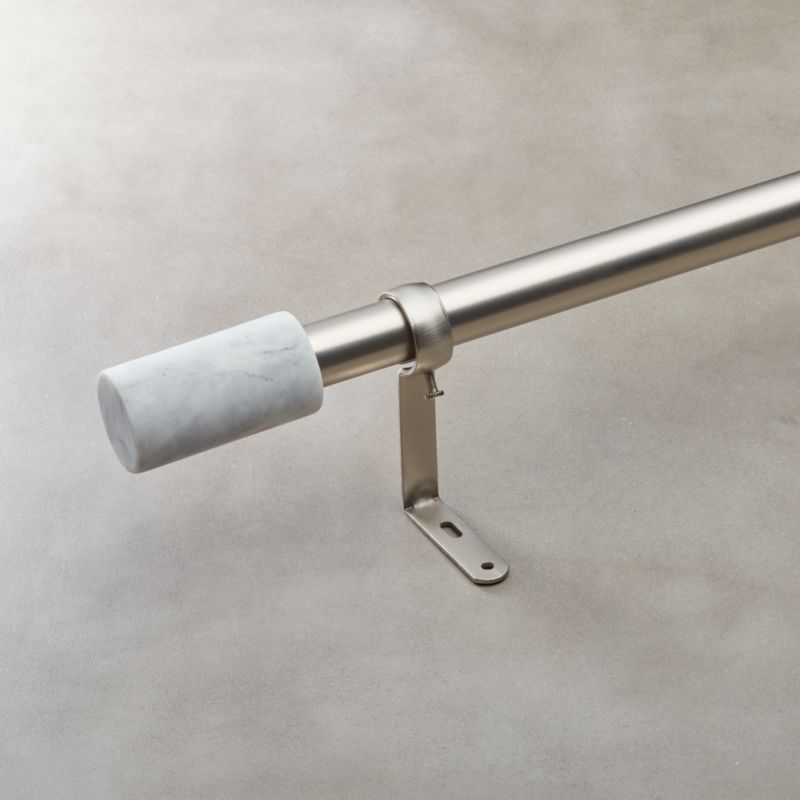 Nickel Curtain Rods And Hardware
