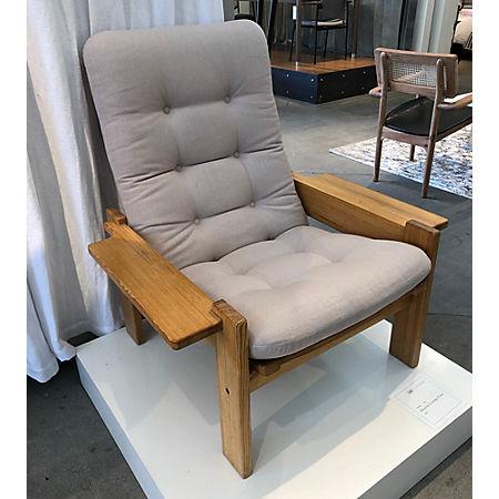 Surprising Ekstrom Lounge Chair Cb2 Alphanode Cool Chair Designs And Ideas Alphanodeonline