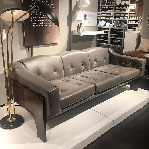 Salocchi Grey Sofa