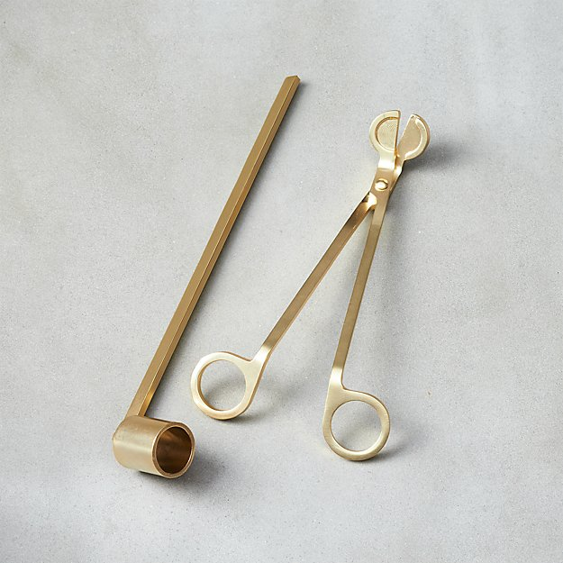 2-Piece Wick Trimmer and Candle Snuffer Set - Image 1 of 3