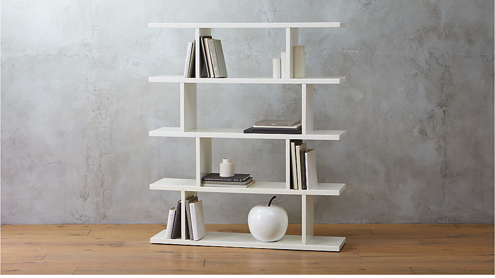 bookcases image tall bookcase balance shelving modern zoom products furniture white design conran