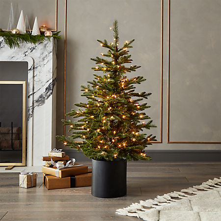 Pre Lit Christmas Tree.Artificial Mixed Pine Pre Lit Christmas Tree 4