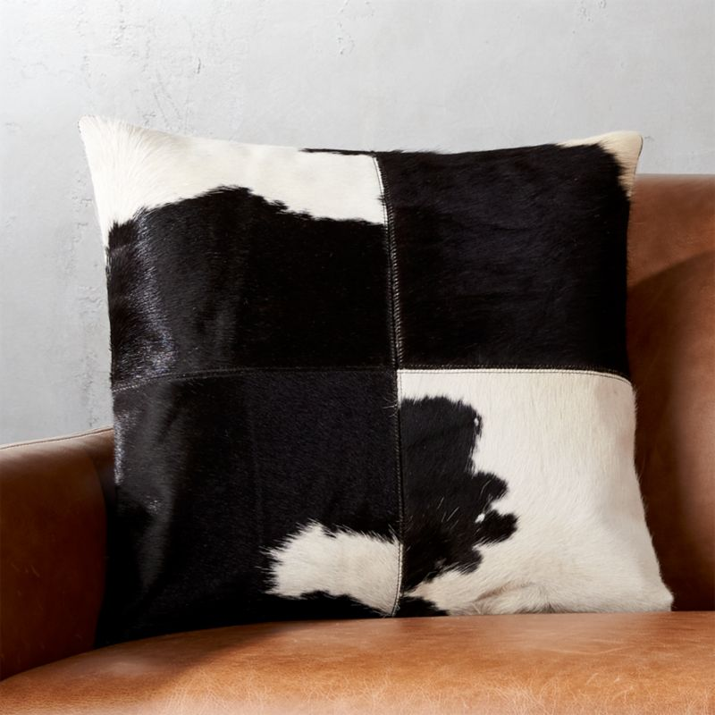 bed set pillows black in faux buy beyond herringbone bath from throw square pillow ivory of fur