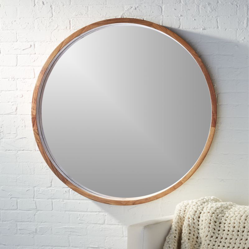 Fantastic Round Mirrors | CB2 ZF69