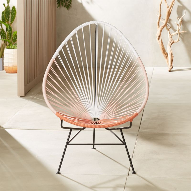 Remarkable Acapulco Pink Egg Outdoor Chair Alphanode Cool Chair Designs And Ideas Alphanodeonline