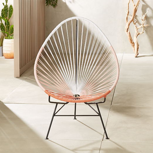 Acapulco Pink Egg Outdoor Chair