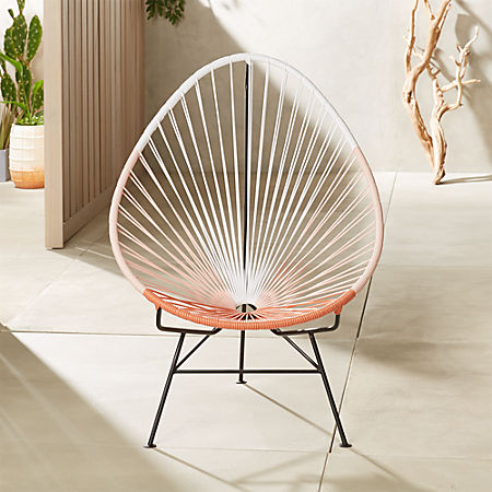 Phenomenal Acapulco Pink Egg Outdoor Chair Camellatalisay Diy Chair Ideas Camellatalisaycom