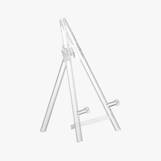 small acrylic easel reviews cb2