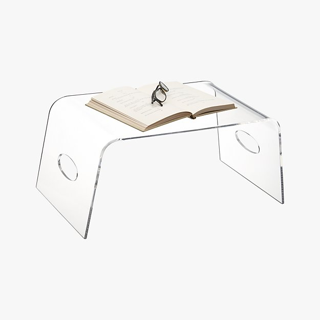 Acrylic Bed Tray Reviews Cb2