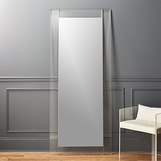 Acrylic Floor Mirror - Image 1 of 6