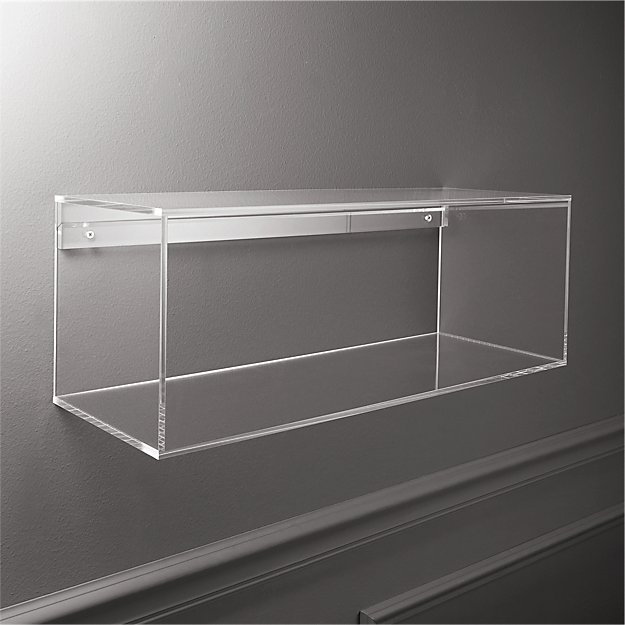 Acrylic Storage Shelf - Image 1 of 9