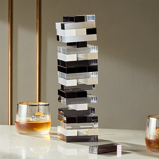 Acrylic Tumbling Tower - Image 1 of 8