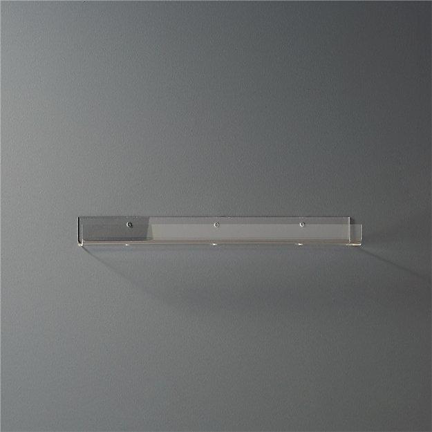 """Acrylic Wall Shelf 24"""" - Image 1 of 11"""