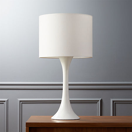 Ada Ii White Table Lamp