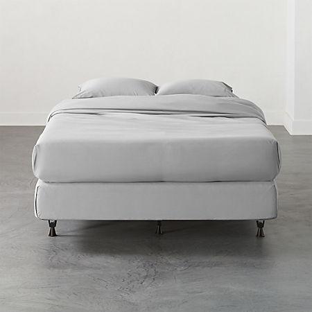 Adjustable Metal Bed Frame | CB2