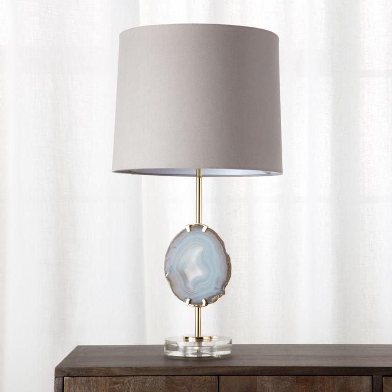 Led table lamps cb2 agate table lamp aloadofball Images