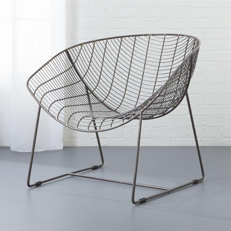 Sleigh Chairs | CB2
