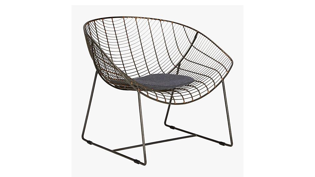 Grey Chair Cushion + Reviews | CB2