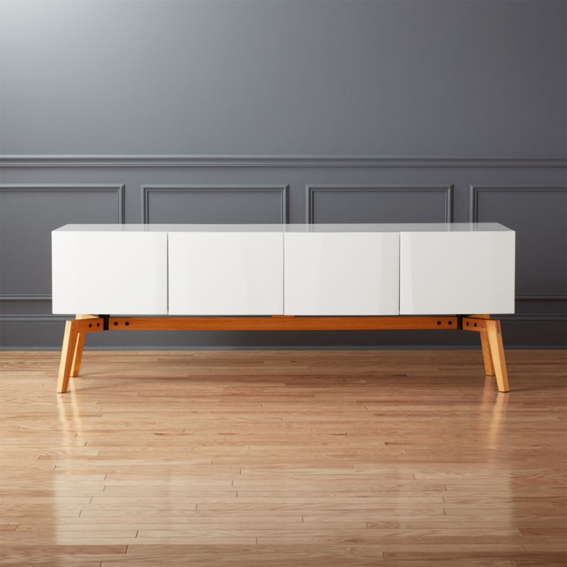 white laquer furniture. Alba Large White Lacquer Credenza Laquer Furniture