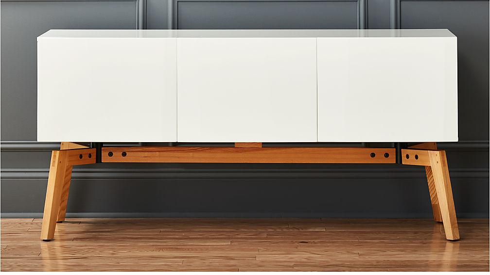 Ikea Usa Credenza : Alba small white credenza reviews cb
