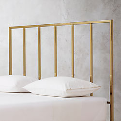 Alchemy Tall Bronze Headboard With Base Options