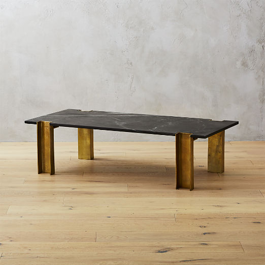 Alcide Rectangular Marble Coffee Table