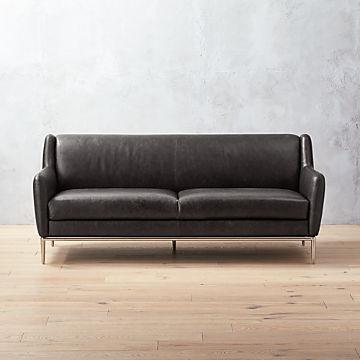 Leather Sofas   CB2