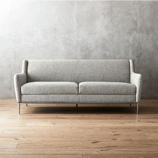 Alfred Stone Grey Sofa