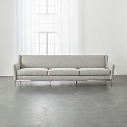 Alfred Extra Large Stone Grey Sofa