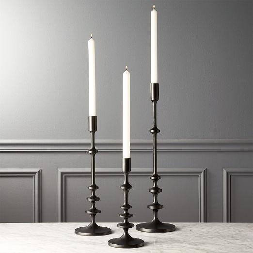 4ca16d367a Unique Candle Holders: Taper, Pillar and Tea Light | CB2