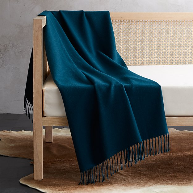 Alpaca Peacock Throw - Image 1 of 6