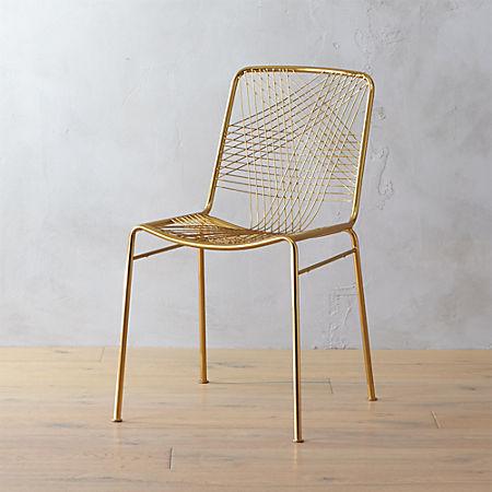 Alpha Brass Chair Reviews Cb2