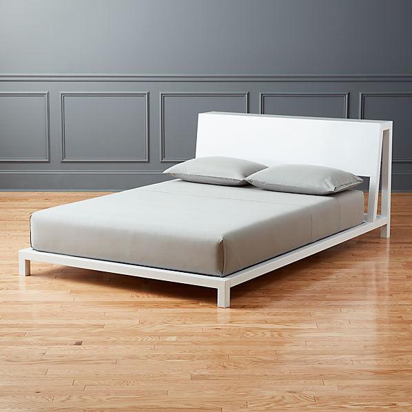 Alpine White Bed