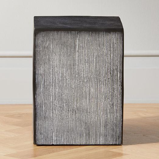 Amaro Small Cast Aluminum Side Table