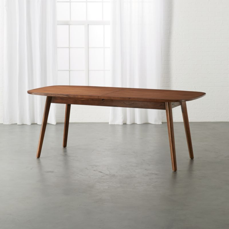 Modern Wood Dining Room Tables: Amelia Wood Extension Table + Reviews